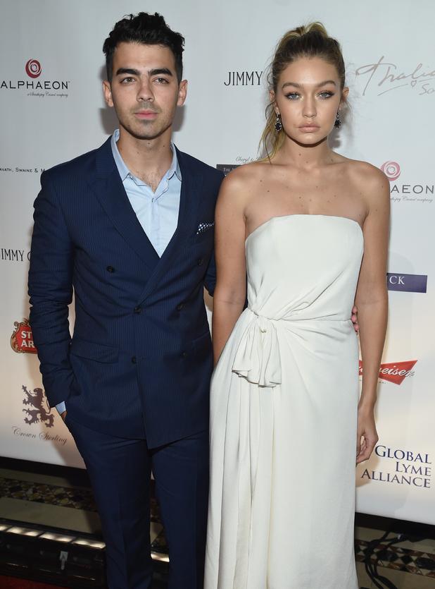 Joe Jonas and Gigi Hadid attend the Global Lyme Alliance 'Uniting for a Lyme-Free World' Inaugural Gala, New York 8 October