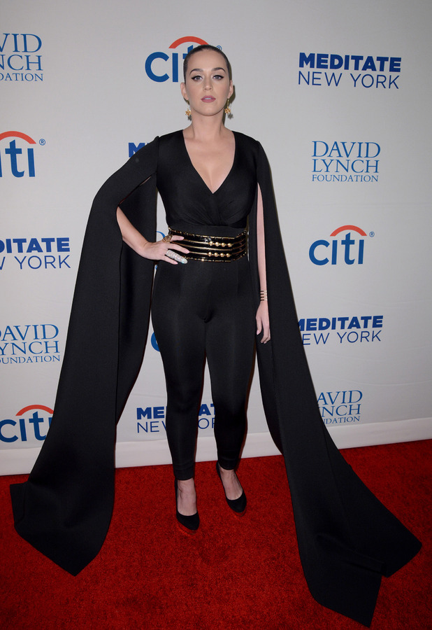 Katy Perry attends David Lynch Foundation Benefit Concert in New York 5th November 2015