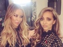 TOWIE's Lauren Pope and Little Mix's Jade Thirlwall at the X Factor live show in London, 2nd November 2015