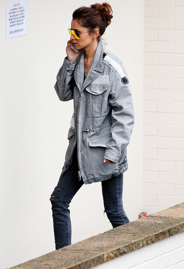 X Factor rehearsals, Fountain Studios, London, Britain - 06 Nov 2015 Cheryl Fernandez-Versini