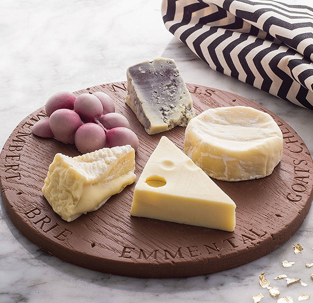 Chocolate and Cheese Board for Christmas, £30