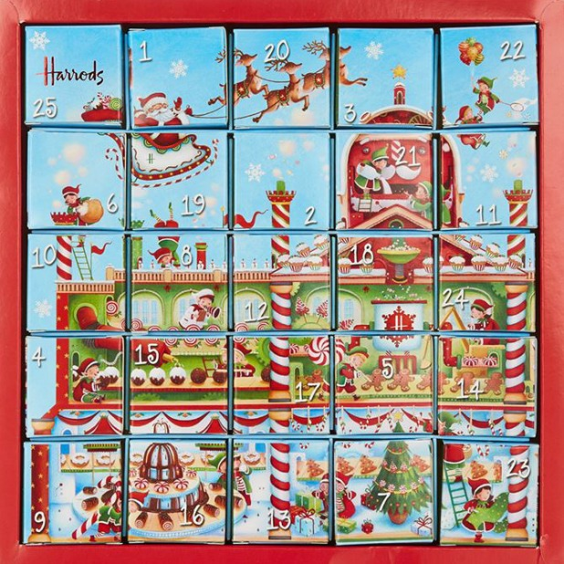 Harrods Advent Calendar, 2015