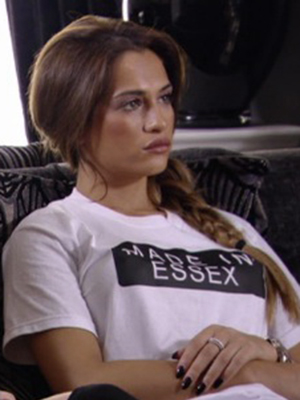 TOWIE's Nicole Bass wears Made In Essex Top from Danni Boutique