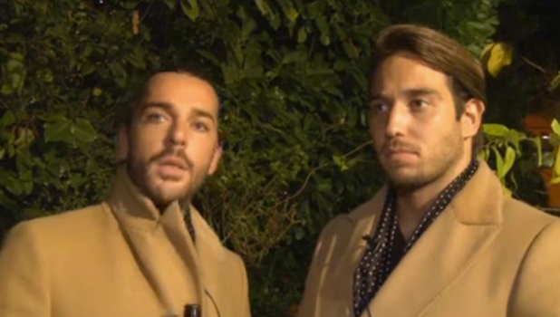 TOWIE's Lockie and Pete Wicks talk to official website 4 Nov 2015