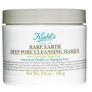Kiehl's Rare Earth Deep Pore Cleansing Masque £21.50, 12th November 2015