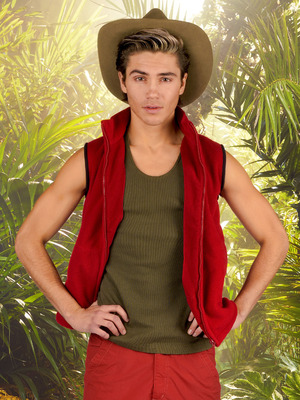 George Shelley: I'm A Celebrity... Get Me Out Of Here! November 2015.