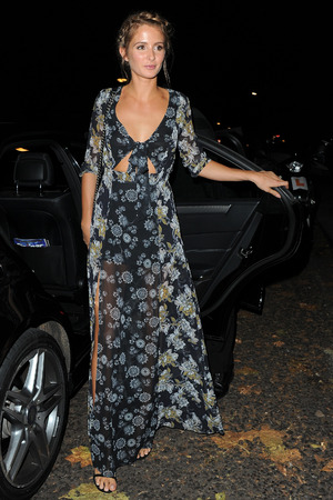 Millie Mackintosh attends fashion preview & VIP launch dinner at Pont St. London. UK, 10th November 2015