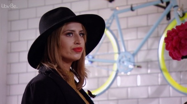 TOWIE: Ferne and Chloe have an awkward encounter. 8 November 2015.