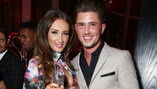 Megan McKenna and Jordan Davies attend Jasmin Walia's launch for Miss Foxy, London 10 November