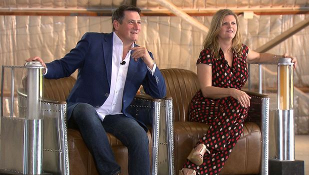 Tony Hadley and Susannah Constantine appear on I'm a Celebrity... Get Me Out Of Here! - 14 Nov 2015