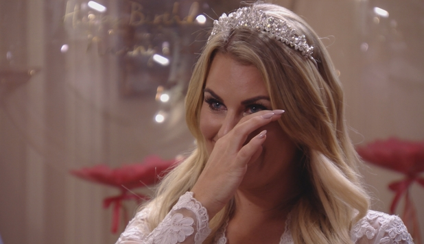 TOWIE: Danni cries as she assess where things stand between her and Lockie. Episode airs: Wednesday 11 November 2015.