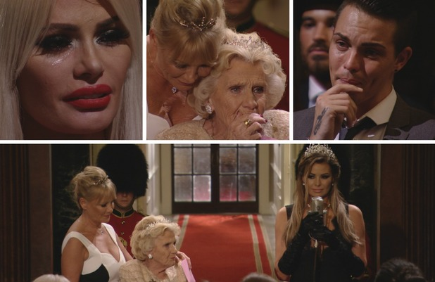TOWIE's Jess Wright leaves the room in tears with song tribute to Nanny Pat on her 80th birthday. Episode airs: 11 November 2015.