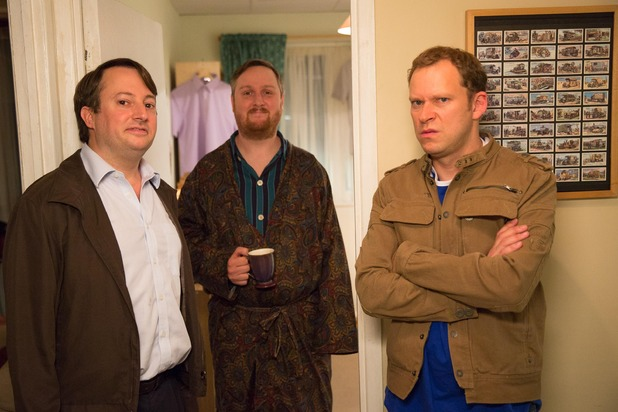 Peep Show, Mark and Jeremy, Wed 11 Nov