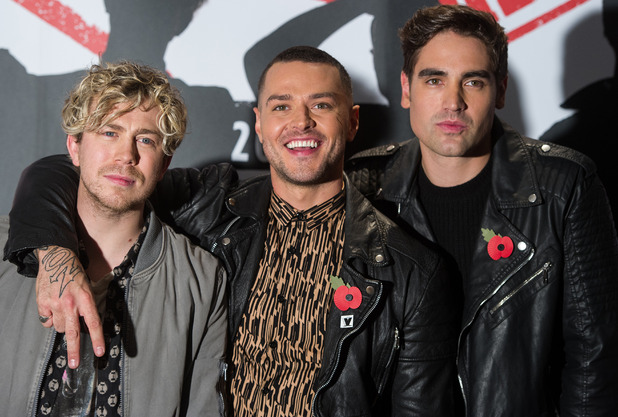 Busted announce their reunion tour, The Soho Hotel, London 10 November