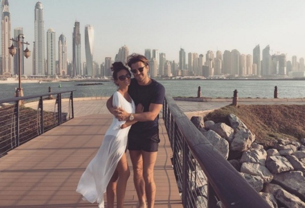 Michelle Keegan and Mark Wright on holiday in Dubai, 9 November