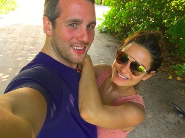 Sam Faiers and Paul Day on holiday in the Maldives, November 2015.