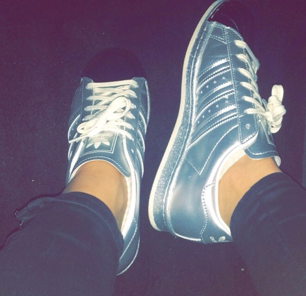 Brooke Vincent Blog: Brooke's trainers 10 November