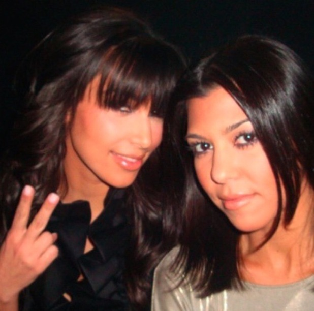 Kim Kardashian shares throwback pictures of her favourite hairstyles, choppy fringe 13th November 2015