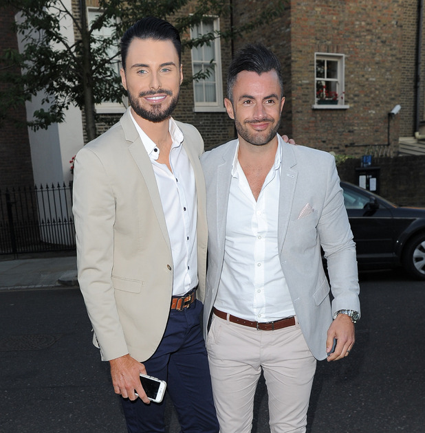 Rylan Clark and Dan Neal - ITV Summer Party at a private address in West London - 9 July 2015.