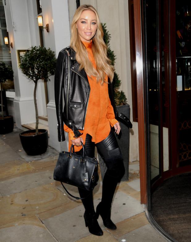 Lauren Pope arrives at The Soho Sanctum - 10 November 2015.