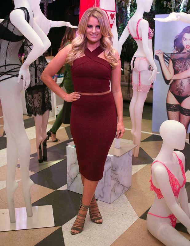 TOWIE's Danielle Armstrong at Ann Summers Spring Summer event in London, 13th November 2015