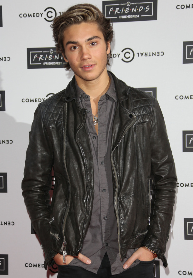Union J star George Shelley at the launch of Comedy Central's FriendsFest at the Boiler House, Made In Chelsea 15 September