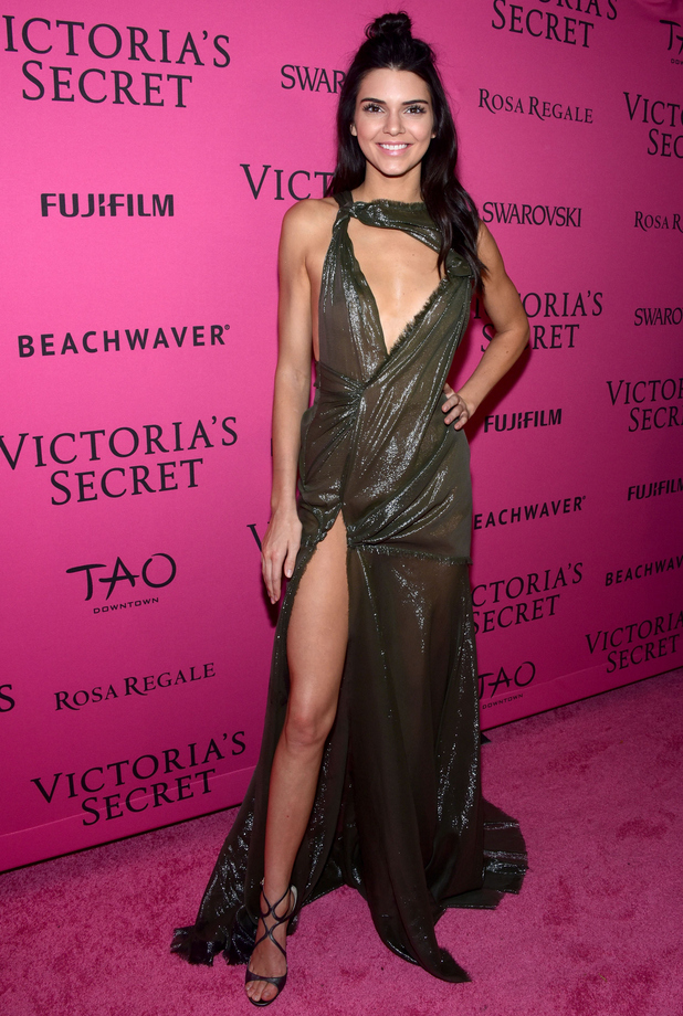 Kendall Jenner attends the 2015 Victoria's Secret Fashion After Party at TAO Downtown in New York City, November 10, 2015
