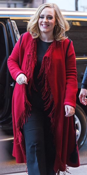 Adele out and about in New York - 20 Nov 2015