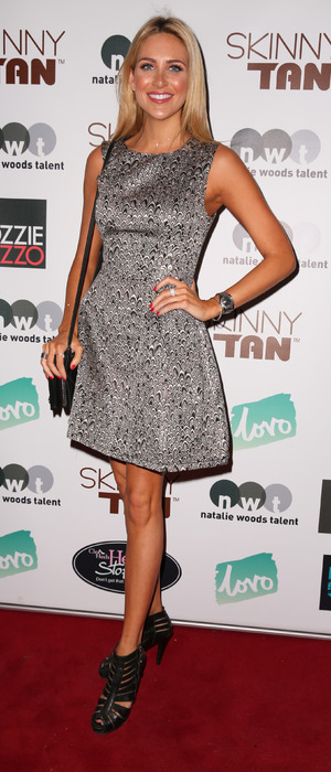 MIC's Stephanie Pratt seen at Skinny Tan launch party in London, 20th November 2015