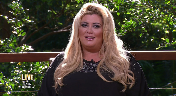 Gemma Collins on I'm A Celebrity... Get Me Out Of Here Now! - 18 November 2015.