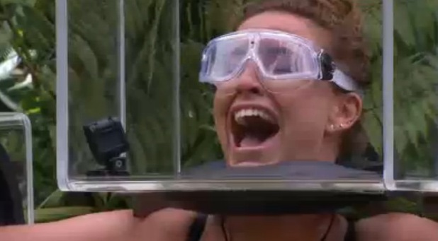 Ferne McCann panics during first Bushtucker trial, I'm A Celebrity Get Me Out Of Here 19 November