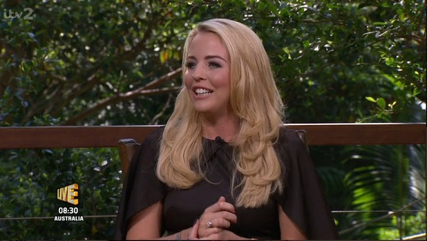 Lydia Bright on I'm A Celebrity...Get Me Out Of Here Now! 19 November 2015.