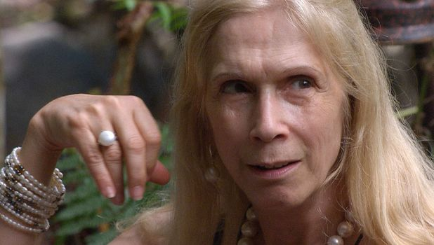 Lady Colin Campbell on I'm A Celeb, 21 November 2015.
