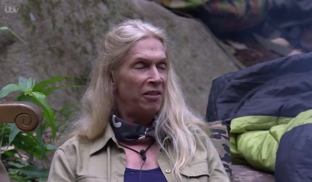 'I'm a Celebrity, Get Me Out Of Here!' TV Programme, Australia - 16 Nov 2015 Lady Colin Campbell fumes at Chris Eubank and Tony Hadley while closing her eyes.