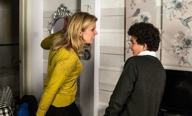 Corrie, Leanne lashes out at Simon, Wed 18 Nov