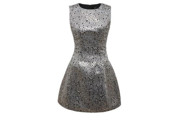 AX Paris Metallic Skater Dress £45, 20th November 2015