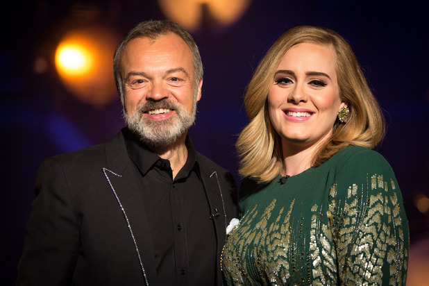 Adele At The BBC, Graham Norton, Fri 20 Nov