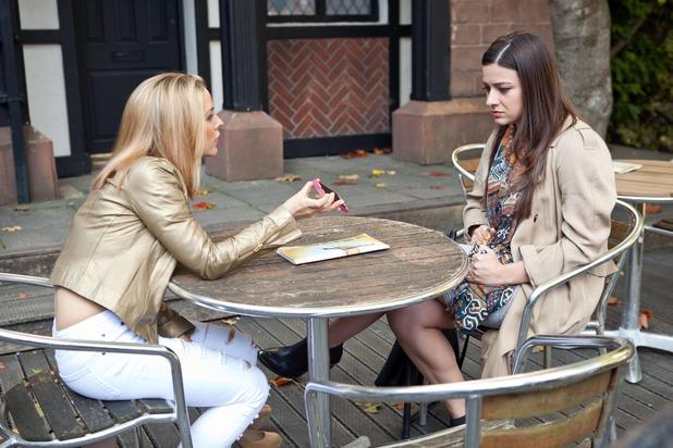 Hollyoaks, Cindy confides in Lindsey, Mon 23 Nov