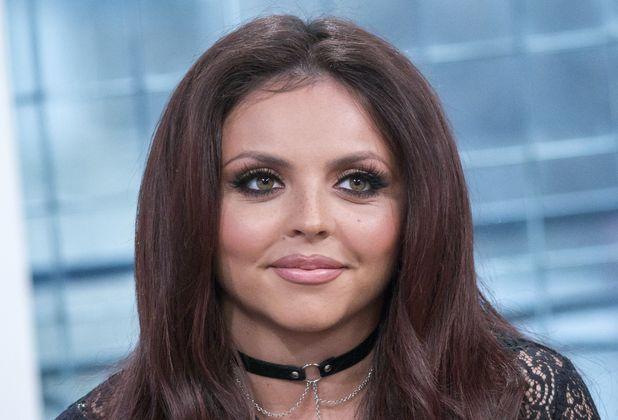 Little Mix's Jesy Nelson on appears on TV programme Sunday Brunch, 16th November 2015