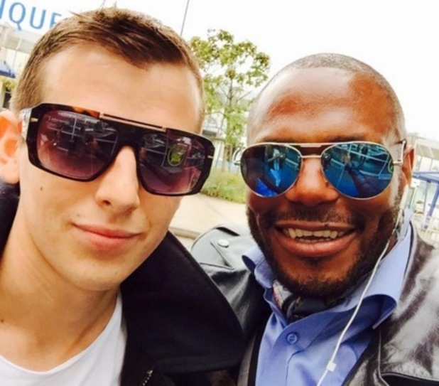 Max Stone and Anton Stephans, The X Factor 9 October