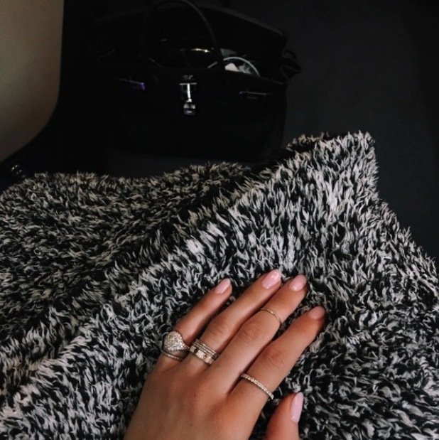 Kylie Jenner shares picture of short, nude nails on Instagram, 16th November 2015