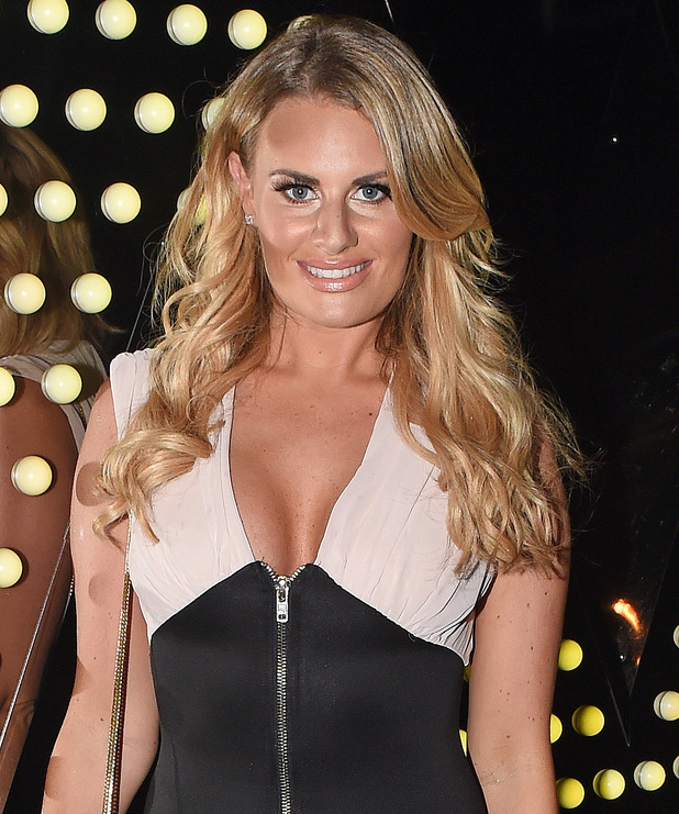 Danielle Armstrong at Mark Hill Hair launch event at the W London Leicester Square - 6 October 2015.