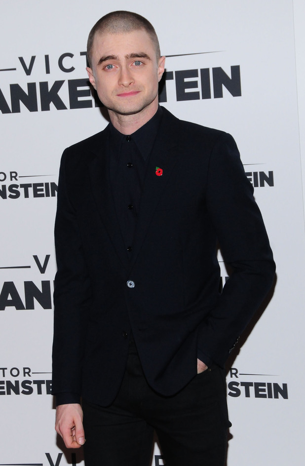 Daniel Radcliffe attends the New York Premiere of 'Victor Frankenstein' at Chelsea Bow Tie Cinemas 11 November
