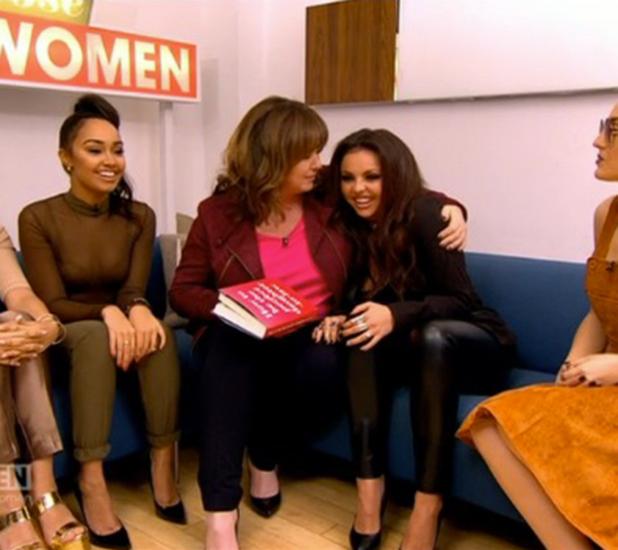 Coleen Nolan interviews Jesy Nelson on Loose Women