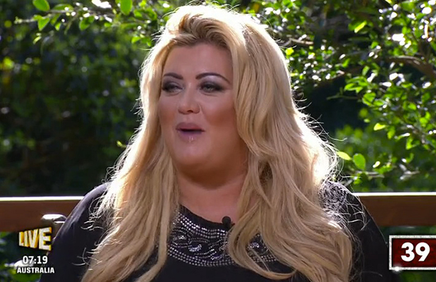 Gemma Collins on I'm A Celebrity Get Me Out of Here Now, 2015