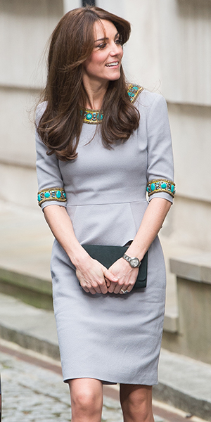 Catherine, Duchess of Cambridge attends Place2Be Headteacher Conference at Bank of America Merrill Lynch on November 18, 2015 in London, England. (Photo by Samir Hussein/WireImage)