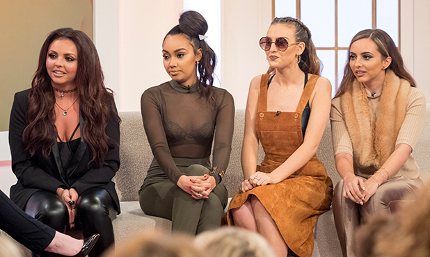 'Loose Women' TV Programme, London, Britain - 17 Nov 2015 Little Mix - Jesy Nelson, Leigh-Anne Pinnock, Perrie Edwards, Jade Thirlwall