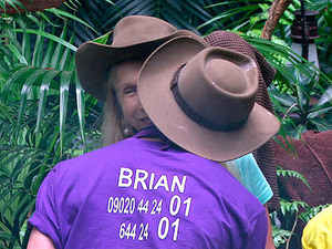 I'm A Celebrity: Lady C and Brian surprise us by kissing and making up
