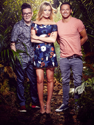 I'm A Celebrity...Get Me Out Of Here Now! ITV2, David Morgan, Laura Whitmore, Joe Swash