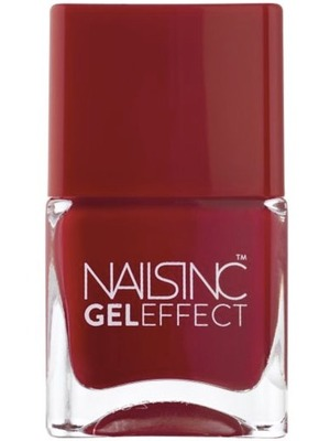 Nails Inc Gel Effect Polish in St James Pillar Box Red